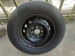 Roda de ferro aro 13 fiat