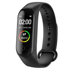 Relogio Inteligente Smartwatch M4 Bluetooth Monitor Saúde
