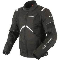 Jaqueta Motociclista LS2 - Novíssima - Mod. Teide - Preta - Brinde!