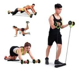 Treinamento abdominal intenso, leve e sem esforço!