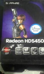 Placa de Vide-o Radeon Hd5450 1gb