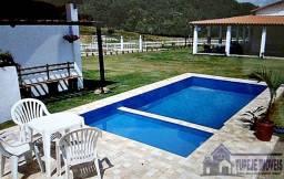 Sítio 8.000m² com casa 6 suítes, lago, piscina, BR-324, 22km de Salvador