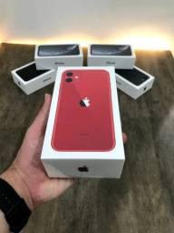 iPhone 11 64 GB (vermelho) - Lacrado + Nota fiscal + Carregador/Fone