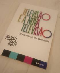 """Livro """"Televisão é a nova televisão"""""""