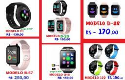 Smartwatch Relógios inteligentes - veja as imagens e LEIA a Descrição
