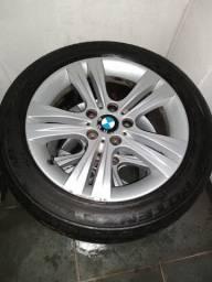 Jogo de rodas aro 17 da BMW 320i