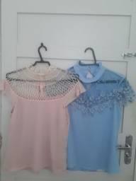 Lote 2 blusas maravilhosas