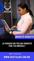 Criação de website por R$150