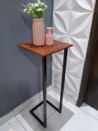 Mesa de canto mesinha de canto para decorar