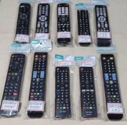 Controle remoto para tv smart, led, lcd e conversor digital multilaser