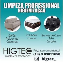 Higtec - Limpeza de Estofados