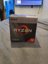Processador AMD Ryzen 5 3400G (Novo nunca usado só abri a caixa pra conferir)