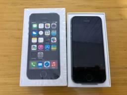 IPhone 5S Prata - NOVO, ORIGINAL COM ACESSÓRIOS - NA CAIXA