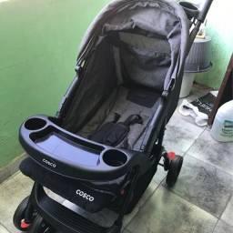 Carrinho + Bebê Conforto Cosco Moove / Preto Mescla