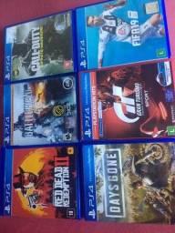 Jogo PS4 kit com 6 jogos