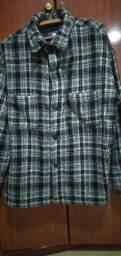 Camisa lã inteira