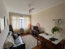 Título do anúncio: Apartamento com 2 dormitórios à venda, 78 m² por R$ 180.000,00 - Centro - São Vicente/SP