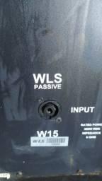 Caixa passiva wls 15 passiva 300w
