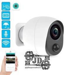 Camera de vigilância com bateria - sistema Wi-Fi monitoramento de qualquer lugar