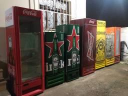 Cervejeiras e Expositoras a venda