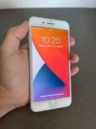 Título do anúncio: iPhone 8 Plus 64GB Branco - Muito Novo - 12 x 219,90