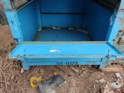 Caixotes de ferro 880x960mm altura 680mm
