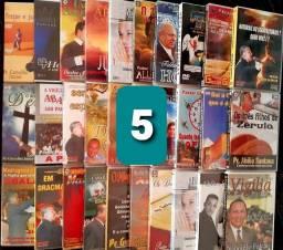 CDs gospel ou DVDs de pregação