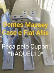 Dentes Massey Case e Fiat Allis