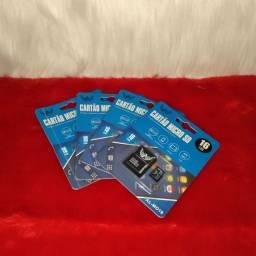 Cartão micro SD<br><br>16 GB<br>