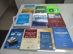 Lote Livros Contabilidade / Administração / Economia / Excel / HP 12C / Leia descrição