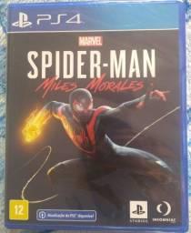 Spider Man Miles Morales PS4 lacrado.