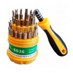 Kit chaves manutenção em celular/eletrônicos.