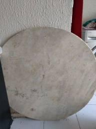 Tampo de mármore 1m + base para mesa