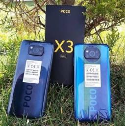 Xiaomi Poco X3 NFC 6GB + 128GB ou 64GB Novos Lacrados + Capinha + Película