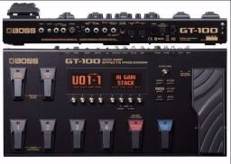 Pedaleira Boss GT-100 - Novo (Somos Loja)