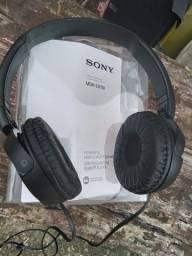Fone de ouvido headphone Sony quase novo na caixa