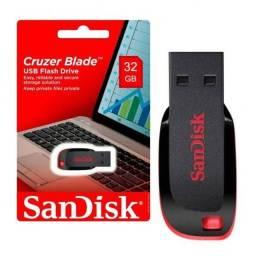 Pen Drive Sandisk Original 32GB - Lacrado !!
