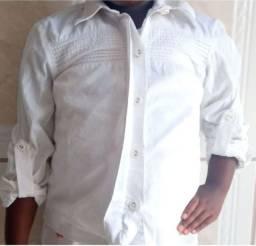 Blusa branca infantil