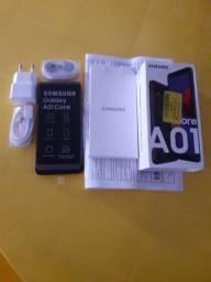 Smartphone A 01 da Samsung zerado