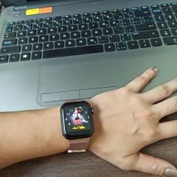 Relógio inteligente IWO 12 Pro W55 com pulseira de aço de brinde!