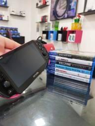 PS Vita 32gb + Jogos - Loja Física - Aceitamos Cartões em até 12x