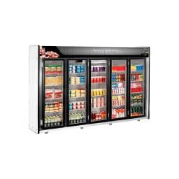 Título do anúncio: Expositor Frios e Laticínios 5 Portas Refrimate - ASFL5PP
