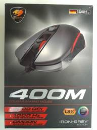 Mouse Gamer Cougar USB Óptico 400M Iron/Grey 4000 Dpi