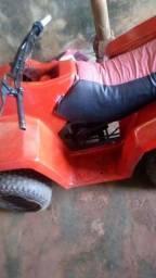 Vendo quadriciclo com motor 50 cc valor 1200