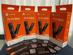 Caixa Lacrada - Xiaomi Mi TV Stick - Chromecast - Versão Global - Preto