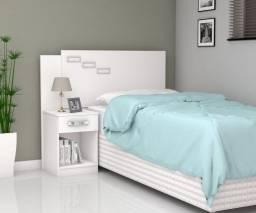 Cabeceira para cama solteiro/solteirao Mabelle