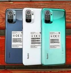Novo Xiaomi Redmi Note 10 de 64GB - Bateria 5000mAh - Câmera 48mp - Carregador 33w