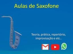 Título do anúncio: Aulas sax