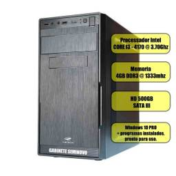 Computador Core i3 + 4GB ram + HD 500gb