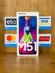 M51 128gb, Novo + Nota Fiscal + Garantia (Cartão até 12x)